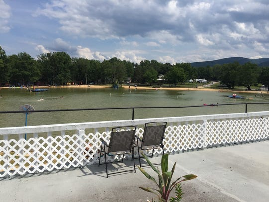 The new rooftop dining spot at Shenandoah Acres called