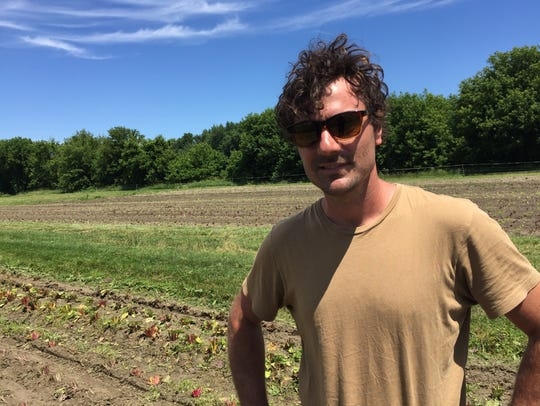 "Eric Seitz of Pitchfork Farm says farming is his ""calling."""