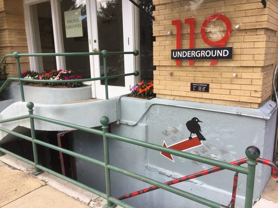 Underground 119 is located below street level at 119 S. President St., right below Fischer Galleries.