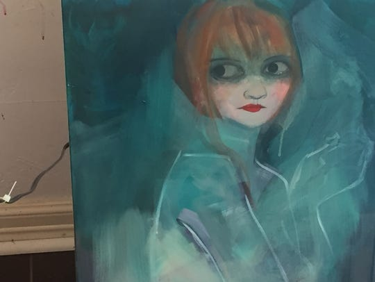 Rachel Stuart Haas, a SRAC collectible artist, said