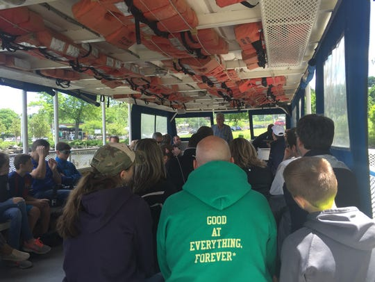 A tour begins with a boat ride from Beacon.