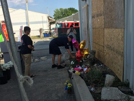 Community members, family and friends mourn the loss