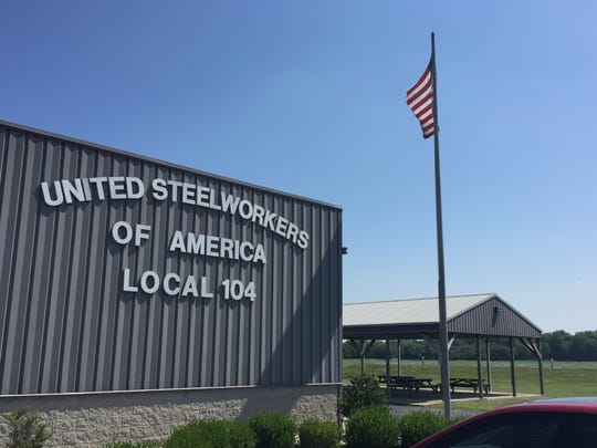 The United Steelworkers of America office in Warrick County, near Alcoa Warrick Operations.