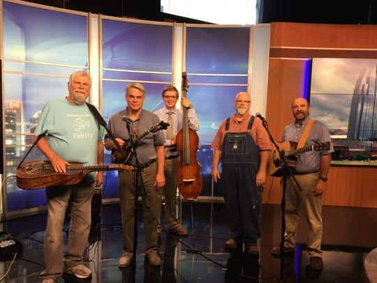 Live music from the Bethlehem UMC Bluegrass Band, pictured,