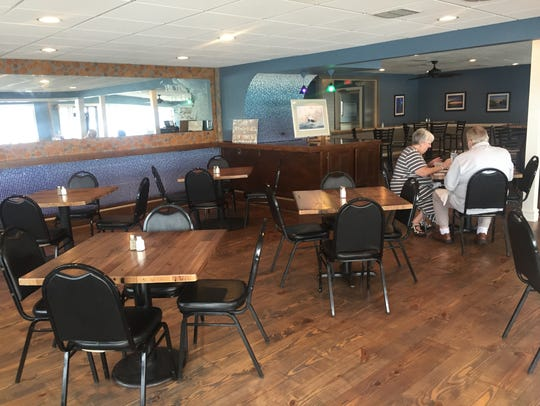 Lake Fx Grill opened Wednesday and will have limited