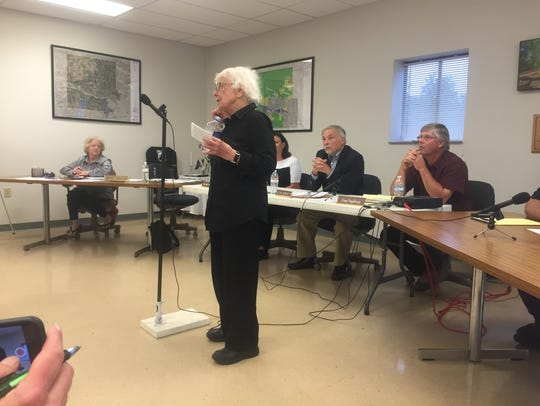 Gloria Hoover shares her desire for the fire station