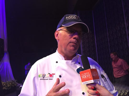 Epcot executive chef Mike Deardorff said the 2017 Epcot International Food and Wine Festival will feature 35 pop-up spots for food and wine.