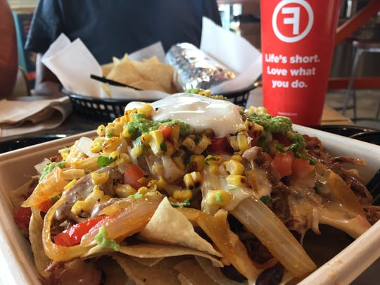 This order of nachos from Freebirds World Burrito includes