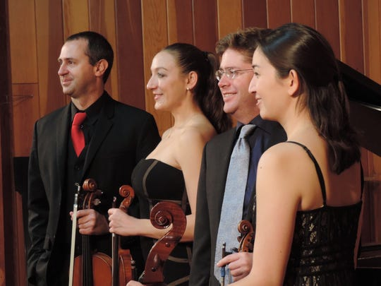 The Pacific Crest Music Festival Quartet.