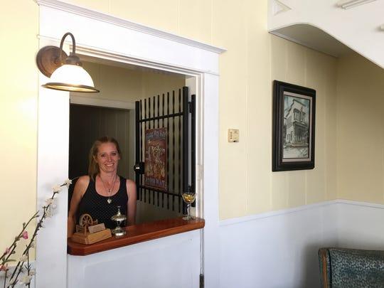 Terri Lee Elder is innkeeper at the Bunkhouse Inn in