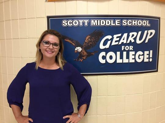 Venus Soileau is the principal of Scott Middle School.