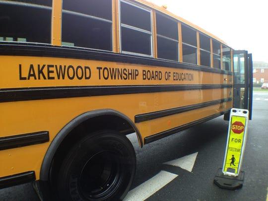 A Lakewood school bus