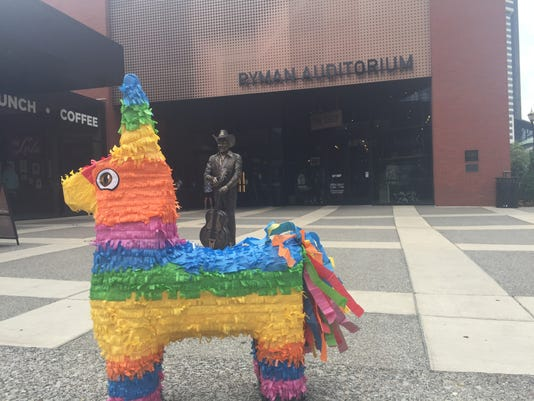 The Taco Festival Nashville  piñata 2