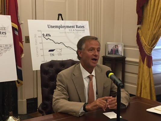 Haslam on unemployment