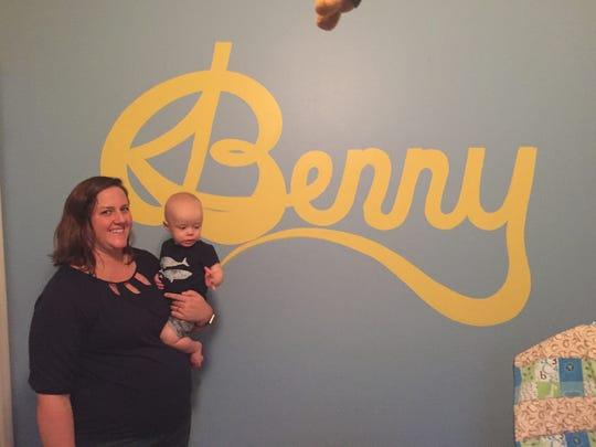 Benjamin Smalls Querry and mom Julia