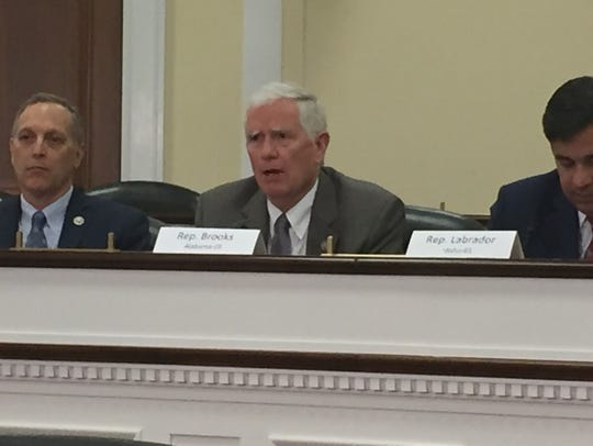 Rep. Mo Brooks, R-Ala., is a member of the conservative