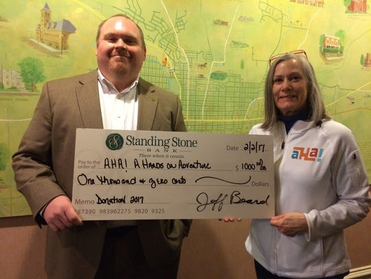 Jeff Beard, Standing Stone Bank president and CEO is