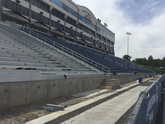 Nevada took down the section of seats where Bohl sat and is fixing the ADA issues before the first home game