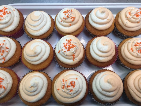 Relive your childhood with Creamsicle cupcakes at Bakery