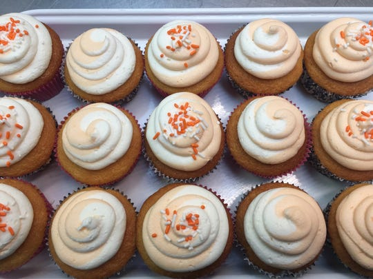 Relive your childhood with Creamsicle cupcakes at Bakery 519 in Glendora.