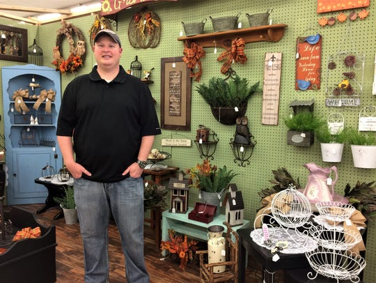 Owner and operator Donald Jenkins offers booth space