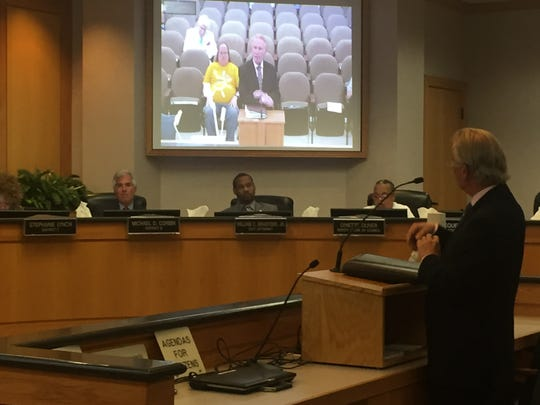Attorney J. Ransdell Keene said that Suez Water wants to take over the city's water and sewer operations and consent decree mandates.