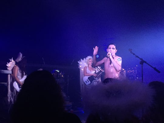 '80s actor/pop singer Corey Feldman performed  July 25, 2017, with his band the Angels at Wynfields Sports Bar in Satellite Beach. Feldman's music tries to emulate the King of Pop (and Corey's late friend) Michael Jackson.