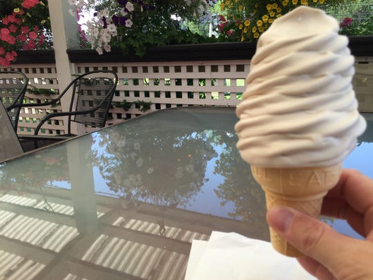 The maple creemee at Broadacres Creemee Stand in Colchester.