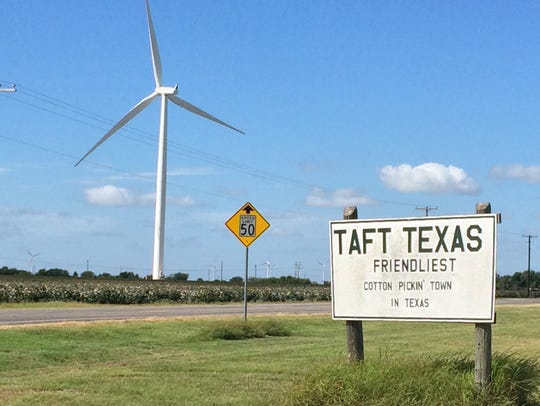 Taft, Sinton and other San Patricio County communities
