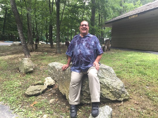 "Jeri Jones, program coordinator for York County Parks, retired in August. While he has many memories of the parks, ""certainly my real love is Christmas Magic."""