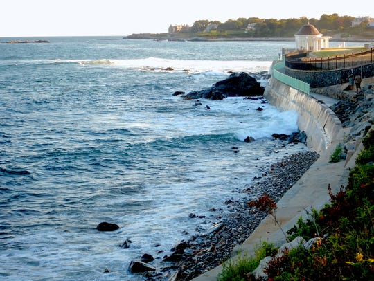 The Cliff Walk in Newport, R.I., is a treasure that