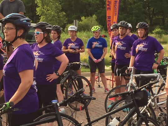 Team Phoenix is a program for female cancer patients.