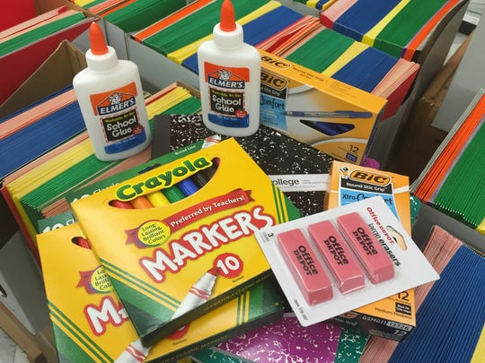 Bring two new school supplies and get free entry to the Mets game at 6:30 p.m. July 27.