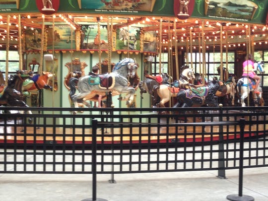 Take a spin on these magnificent carousels