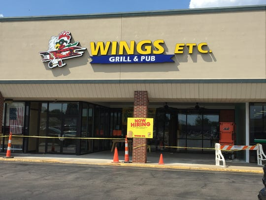 Wings Etc. is preparing to open on Diamond Avenue in