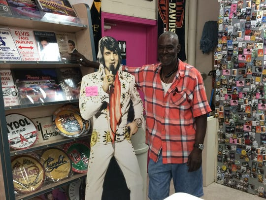 Bibby Simmons the Black Elvis, a Montgomery resident,