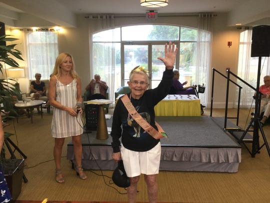 Sis Wendeler earned MVP honors in the The Carlisle's