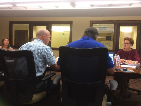 San Angelo police and City representatives in meet