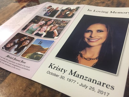 Funeral services for slain Santa Clara resident and St. George real estate agent Kristy Manzanares were held Aug. 3 in St. George and followed by a second round of services in Price on Aug. 4 and Aug. 5.