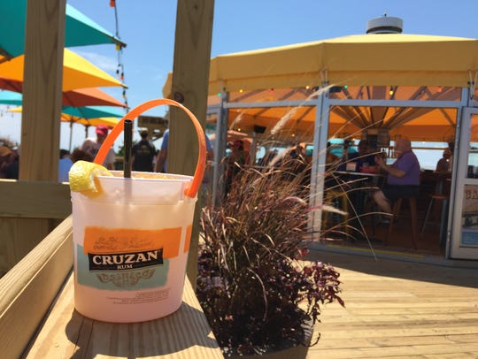 The new Big Chill Beach Club serves four different