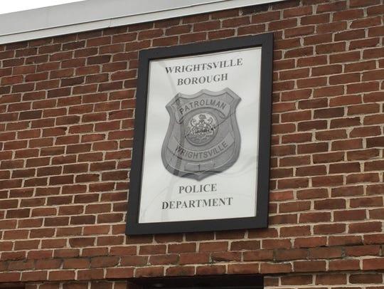 Wrightsville Police. Christopher Dornblaser photo.
