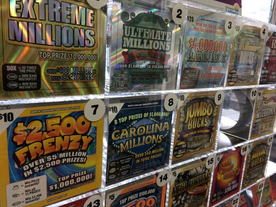 The General Assembly does not set the odds for North Carolina Education Lottery scratch-off games or other lottery games. That falls to the professional staff of the lottery.