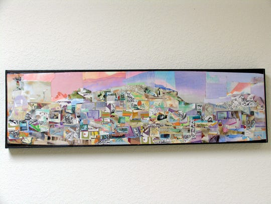 One of the pieces by Paul Karchawer to be exhibited