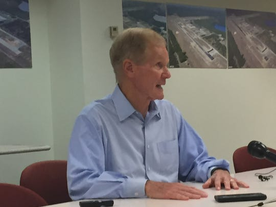 """Nelson, a three-term Democrat planning to run for reelection, fielded questions from the public and reporters for 75 minutes Tuesday. """"I know how to campaign,"""" he commented at one point."""