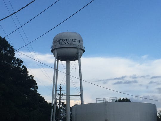 Chincoteague, Virginia water tower