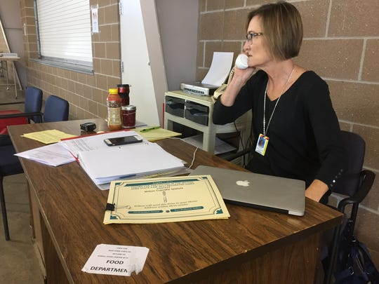 Just days before the Iowa State Fair, Karen McKilligan, the new superintendent of the Food Center, answers questions over the phone.