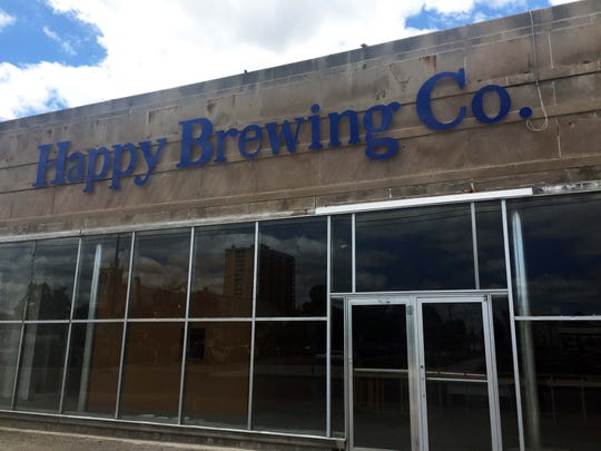 Happy Brewing Co. is opening in an old Double 8 grocery store.