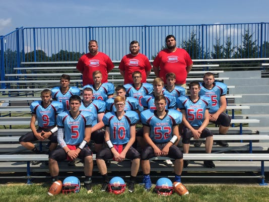Ridgedale football 2017 team photo