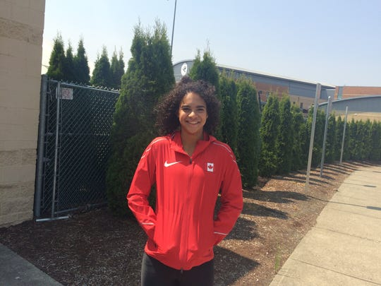 Former West Salem athlete Keira McCarrell recently competed for Canada in the Pan American U20 Games in Peru.
