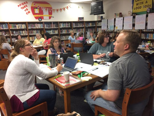 Thirty-five teachers at Fain Elementary School are